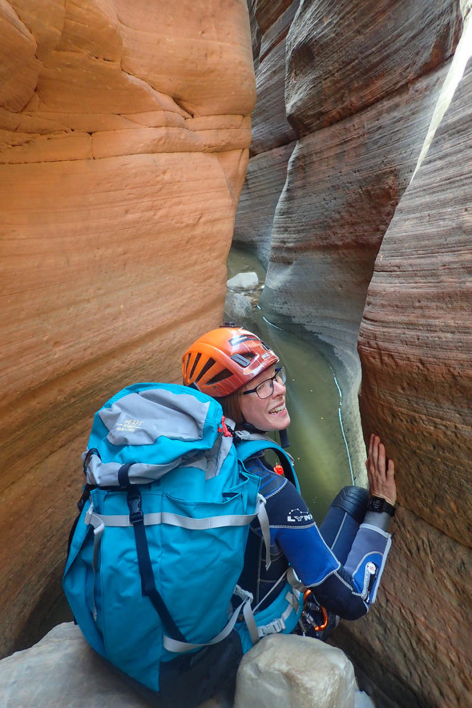 Canyoneering in Zion