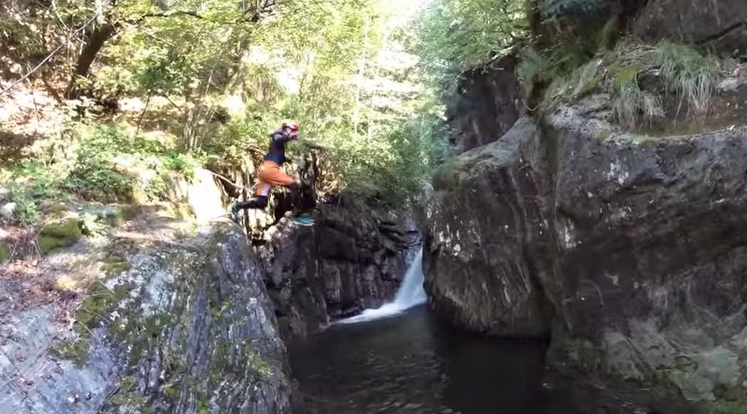 Canyoning i Val Grande Inferiore